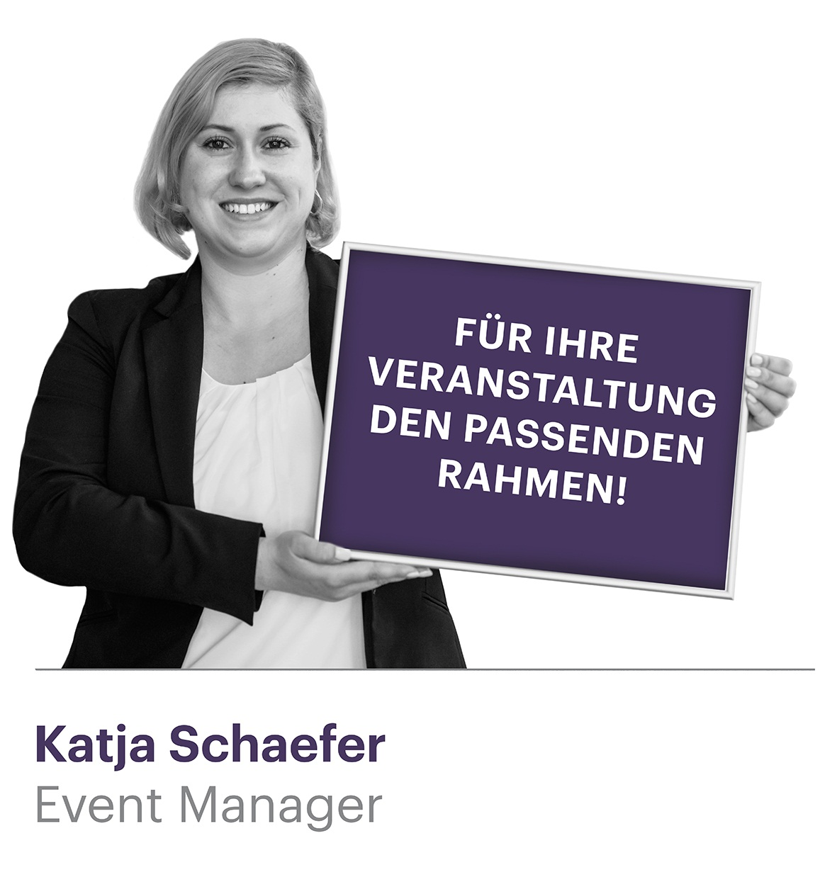 Event Managerin Katja Schäfer